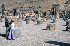 Found Photo - Iran - Persepolis - Archeological Site 11.tif (David Pirmann) Tags: iran ruins archeology persia persian unesco worldheritage xerxes parsa takhtejamshid achaemenid dpfoundphotoasia1976 persepolis