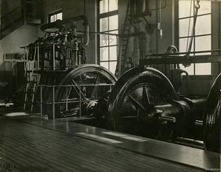 Musselburgh Pumping Station Interior, c1905