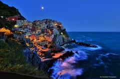 manarola in the moonlight (Rex Montalban Photography) Tags: rexmontalbanphotography manarola italy cinqueterre night longexposure moonlight
