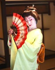 Geiko_20170319_21_10 (kyoto flower) Tags: nijyojinya kimiaya kyoto maiko 20170319 舞妓 二条陣屋 君綾 京都 geiko 芸妓 hideookitsu