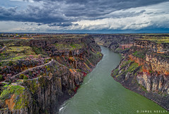 Canyon View (James Neeley) Tags: idaho snakeriver aerialphotography jamesneeley