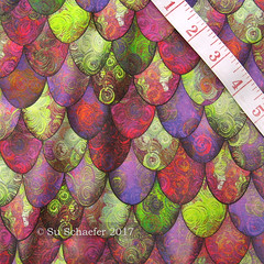 'Bright green, pink + mauve scales-by Su_G': on basic cotton (Su_G) Tags: sug swatch spoonflower 2017 brightgreenpinkmauvescalesbysug mermaidstail mermaidtail mermaidscales mermaidtails dragonscales dragonscale dragonskin dragontail scallop scallops afterfabergé afterfaberge brightsummer bright summer easteregg pinkandgreen pink green