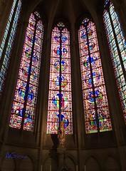Por los siglos de los siglos, amén! (AGirau ...) Tags: agirauflickr agirau vidrierasdelacatedraldemeaux catedraldemeaux meaux catedral virgen luces colores vidrieras