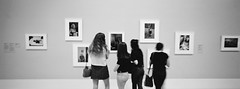 Looking at Eggleston i (@fotodudenz) Tags: hasselblad xpan film rangefinder 30mm ultra super wide angle melbourne victoria australia 2017 panorama panoramic gallery william eggleston national ngv kodak bw400cn