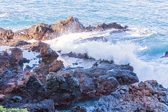 Refreshing the Tidal Pools (Zeta_Ori) Tags: maui hawaii wailea grandwaileahotel grandwailea grandwailearesort ruef rocks ocean