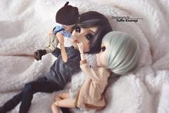 Happy moments (·Yuffie Kisaragi·) Tags: doll dolls pullip creatorslabel galene brow taeyang mj custom akaiarashi abel littledal rooster viggo obitsu obitsus rewigged rechipped