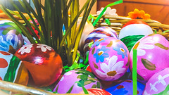 Happy Easter (ildikoannable) Tags: eggs craft paintedeggs colour vivid tradition eastereggs holiday easter happy