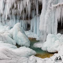 Ice Ice Everywhere (etunar) Tags: triglav triglavnationalpark winter snow nationalpark slovenia ice waterfall frozen frozenwaterfall tlandscape landscapephotography winterlandscape nature turqoisewater icewall