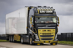 Volvo FH IV 540 Globetrotter XL - King Cargo (GR) (Michał Szczerbowski) Tags: volvo fh iv 540 globetrotter xl king cargo naczepa chłodnia tuning volvotrucks