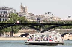day twenty-six: bateaux mouches (dolanh) Tags: seine france pontdesarts rivercruise bateauxmouches river boatride juliettegreco bateaumouche bridge boatcruise paris