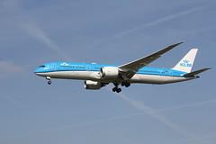 PH-BHG Boeing 787-9 KLM (FokkerAMS) Tags: boeing787 klm phbhg
