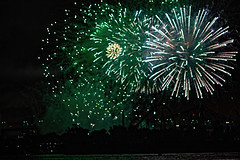 C58R4057 (Nick Kozub) Tags: big bang fireworks canada loto quebec international competition 2016 canon eos 1dx ef 85 f12 ii l usm explosive projectile burst water jackson pollock nocturnal night reflection festival la ronde summer the wild west