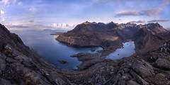 The Isle of Skye (J McSporran) Tags: scotland highlands westhighlands skye isleofskye cuillins blackcuillins lochcoruisk lochscavaig lochnanleachd eigg rhum rum soay sgurrnastri mountains morning panorama landscape canon6d ef1635mmf4lisusm