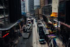 rush hour (hansekiki ) Tags: china hongkong central icm intentionalcameramovement multipleexposure mehrfachbelichtung canon 5dmarkiii