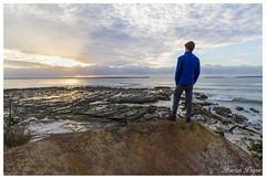 Watching the sunrise (Kieran Payne) Tags: kieran payne person sunrise canon australia jervis bay plantation point