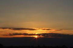 (Calal_Mv) Tags: sunset sky cloud sun sunshine warm cloudy