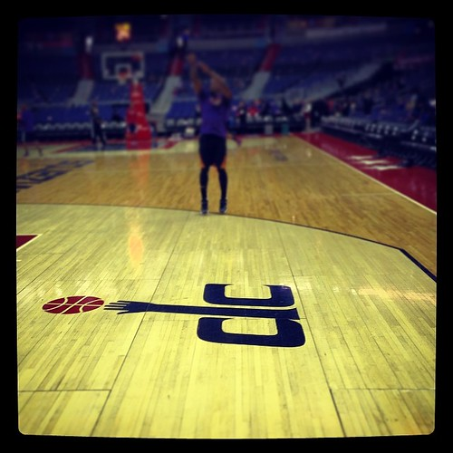 Verizon Center, 6:20 pm, March 26, 2014. #Wizards-#Suns