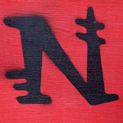 letter N (Leo Reynolds) Tags: canon eos n 7d letter nnn f56 oneletter iso500 0006sec 130mm hpexif grouponeletter xsquarex xleol30x xxx2014xxx
