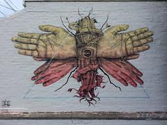Alexis Diaz... (colourourcity) Tags: streetart graffiti hands awesome melboune diaz melbournestreetart alexisdiaz colourourcity
