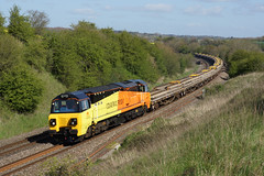 70801 Tackley (Gridboy56) Tags: southall oxfordshire hinksey tackley 70801 colasrail 6c20