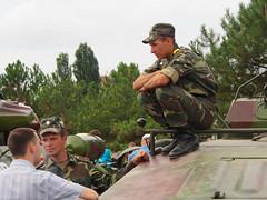 TIraspol Transnistria (Clay Gilliland) Tags: travel vacation holiday uniform europe republic tank russia photostream moldova solder pmr tiraspol pridnestrovie moldavian pridnestrovian