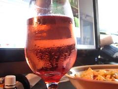glass of stone cellars (aerynvala) Tags: pink wine moscato pinkmoscato