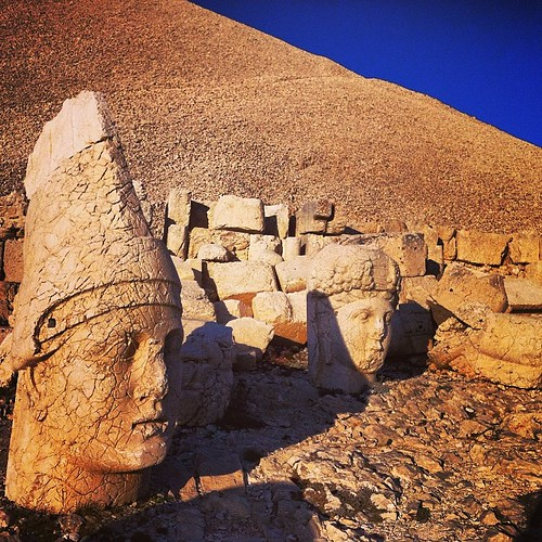 #Nemrut is on fire