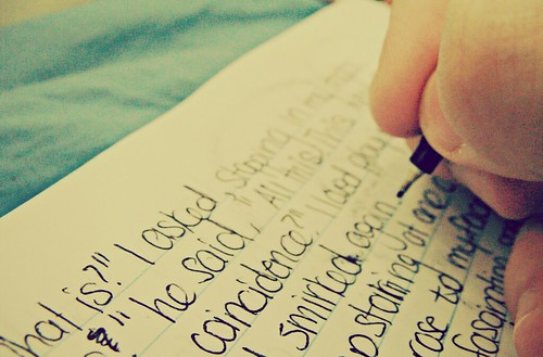Writing Forever by Spongehoe, on Flickr