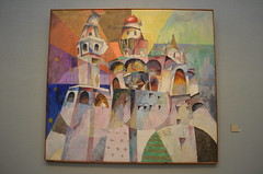 Bellringing. Ivan the Great Bell-Tower, 1915, Aristarkh Lentulov (scarracher) Tags: art modern painting russia moscow contemporary paintings москва россия искусство tretyakov картины современный