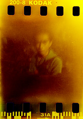 My Friend Dahlan (Muhammad Rafiuddin) Tags: color film indonesia cool kodak handmade pinhole 200 kamera makassar worldwidepinholeday klji lubangjarum