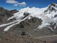 Heading up Aconcagua 3 (NettyA) Tags: snow mountains southamerica argentina rocks mt harry mount mountaineering aconcagua 2011