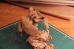 Gorilla Testfold (Dmitriy Panyukov) Tags: origami gorilla nguyen cuong