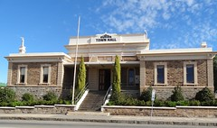 Burra once the largest inland town in Australia in 1851 . The fine Town Hall was constructed in 1874 as the town Institute. (denisbin) Tags: mine institute copper townhall coppermine burra burratownhall burrainstitute