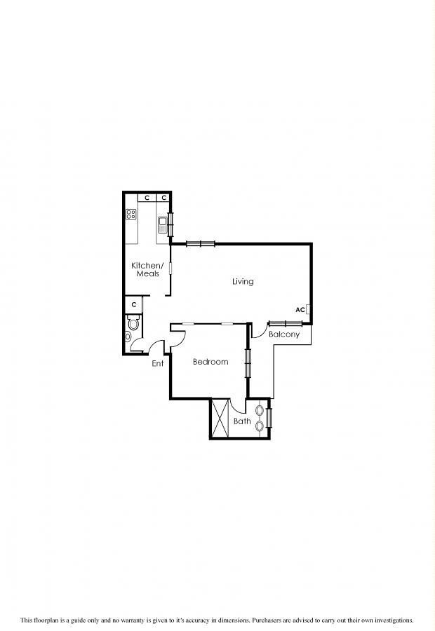 Floorplan For 22 13 The Esplanade St Kilda Vic 3182 Australia Propertypricehistory Com