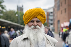 Stranger #153 (Zo0Bear) Tags: street portrait man project beard leeds strangers 100 colourful turban sikh humans 053 100strangers humansofleeds