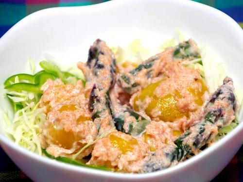 ジャガイモとアスパラのサラダ
