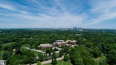 Looking Towards Boston (Eric Kilby) Tags: city 2 boston clouds landscape massachusetts aerial vision plus phantom uav brookline larzandersonpark dji