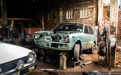 Toyota Corolla KE50 (Aadil Chouji Schiffer) Tags: cars car japanese toyota  lancer mitsubishi corolla jdm kuruma   e50  ke50   rans karra