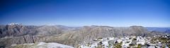 Panorama from the top of Perdekop (crafty--fox) Tags: winter snow southafrica hike westerncape franschhoek polariser polarisingfilter perdekop longhike