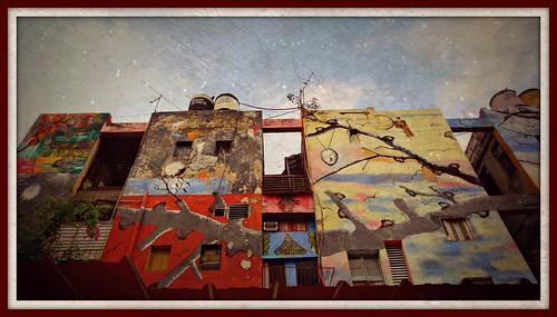 Graffiti in downtown Havana
