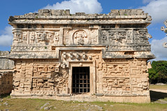 """Building in """"Las Monjas"""" complex, Chichen Itza (Oliver J Davis Photography (ollygringo)) Tags: travel heritage history archaeology stone architecture buildings mexico mesoamerica temple construction ancienthistory ancient nikon ruins maya stonework masonry yucatan style carving architectural unescoworldheritagesite worldheritagesite chichenitza yucatn mayan civilization archeology civilisation americas mayas precolombian centralamerica worldheritage basrelief puuc d90 lasmonjas yucatnpeninsula laiglesia terminalclassic oliverdavisphotography oliverjdavisphotography"""