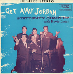 Get Away Jordan (Jim Ed Blanchard) Tags: strange vintage private religious weird store funny god album religion vinyl piano kitsch christian jordan novelty jacket thrift cover ugly record microphone sleeve kooky lister quartet statesman pressing hovie