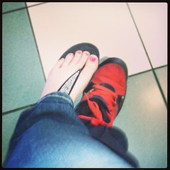 Foot selfie w.@rudeboyheadshoot lolz (candylover3394) Tags: square squareformat unknown iphoneography instagramapp uploaded:by=instagram
