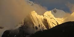 Rasac's razor-edged ridge, Cordillera Huayhuash.