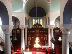 "Interior of the Greek Orthodox Church of St Nicholas, Toxteth, Liverpool • <a style=""font-size:0.8em;"" href=""http://www.flickr.com/photos/9840291@N03/14239085217/"" target=""_blank"">View on Flickr</a>"