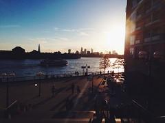 (eslyx.) Tags: uk sunset england london wharf canary goldenhour vsco vscocam
