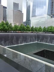 World Trade Center Memorial, New York (posterboy2007) Tags: nyc usa newyork monument memorial worldtradecenter 911 heros