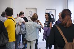 """Inauguracin de """"Rasgados"""" de Jordi Martnez (espai d'art fotogrfic) Tags: valencia fotografia dibujo exposicion rasgados jordimartinez masterenfotografia"""