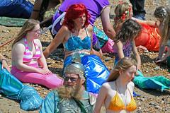 The mermaids of Hastings 2014 (Daves Portfolio) Tags: costume mermaids hastings mermaid fancydress 2014