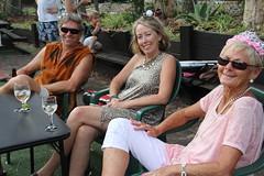 PTC Xmas party Leanne, John, Wendy IMG_6946